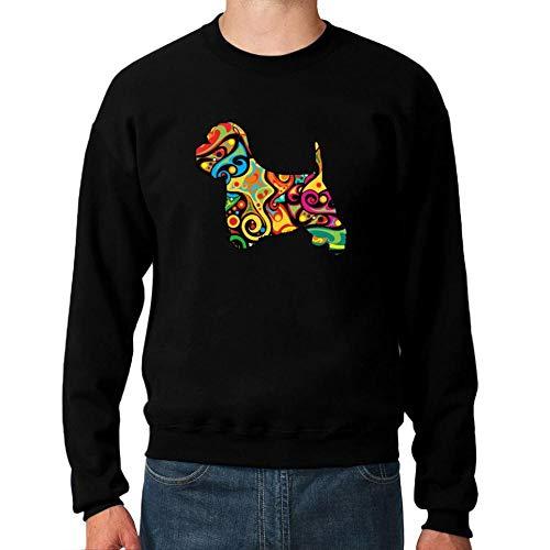 Idakoos Psychedelic West Highland White Terrier Sweatshirt M West Highland Terrier Sweatshirt