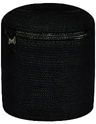 Multifunktions-Schweißband mit praktischer Tasche und Reißverschluss / Ski Armband - Geldbeutel