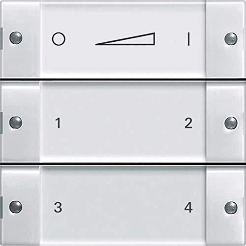 Gira Link Funk-Wandsender 2430100 BSF klar/rws Bussystem-Hand-/Wandsender 4010337025078