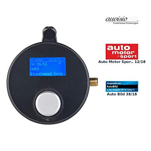 auvisio DAB Tuner: DAB+/DAB-Empfänger mit FM-Transmitter, AUX-Audioausgang, für Kfz/HiFi (DAB Adapter Auto)