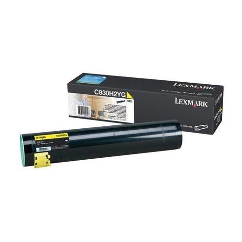 Lexmark Notebooks (Lexmark C930H2YG C935 Tonerkartusche 24.000 Seiten, gelb)