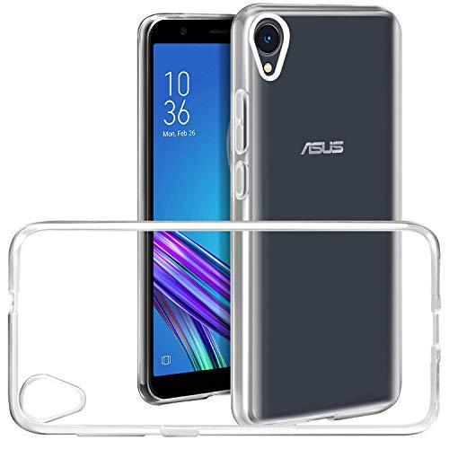 Asus ZenFone Live L1 ZA550KL hülle transparent Handyhülle, COOKAR Ultra Dünn soft Silikon Crystal Clear Schutzhülle für asus ZenFone Live L1 ZA550KL case cover (transparent)