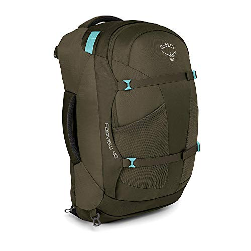 Osprey Fairview 40 Reisetasche für Frauen - Misty Grey (WS/WM) - Ein Youtube-wie Man Ein