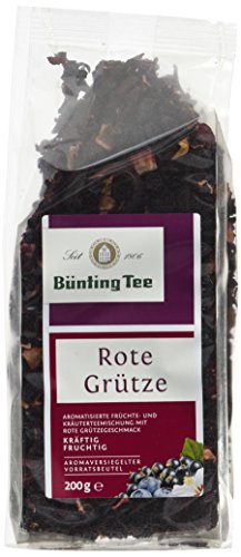 Bünting Tee Rote Grütze 200 g lose, 6er Pack (6 x 200 g)