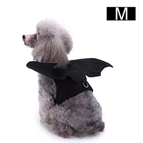 supertop Haustier-Hundekleidung, Kostüm Co Halloween Classics-Sammlungs-Haustier-Kostüm, Schläger-Flügel, M