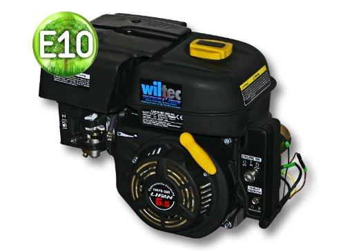 LIFAN 168 Benzinmotor 4,8 kW 6,5 PS 196 ccm mit Ölbadkupplung Reduktionsgetriebe 2:1 E-Starter