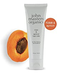 John Masters Organics rose and apricot hair milk, Leave-in Conditioner, 118 ml