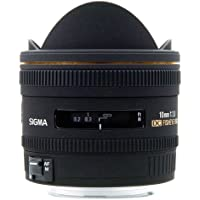 Sigma 10 mm F2,8 EX DC Fisheye HSM-Objektiv (Gelatinefilter) für Sigma Objektivbajonett