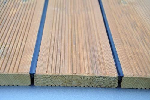 K&R Terracon Terraprotect Fugenband für Terrassendielen für Fugenabstand von 5-7mm, 50m, 1 Stück