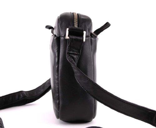 BREE, Schultertasche, Sleeve 7 Black (Schwarz)