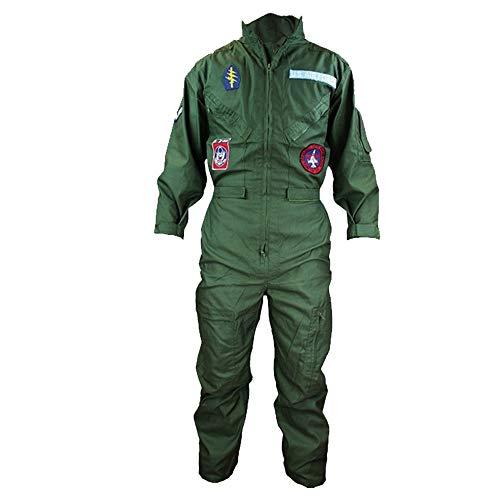 Top Gun Kostüm Pilotenanzug (Größe 7 cm Brust) 134.62-144.78 cm