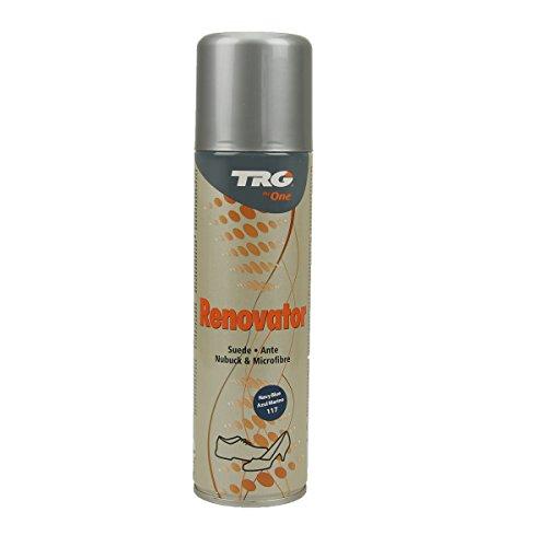 TRG Renovator Wildleder Nubuk Microfaser Pflegespray Imprägnierspray (navy blau)