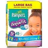 Pampers Active Fit Taille 5 + (13–27kg) Grand format 45x 45par paquet