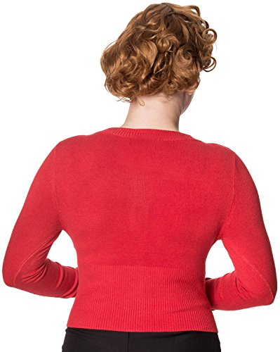 Dancing Days by Banned Strickjacke DOLLY CARDIGAN 3175 Red