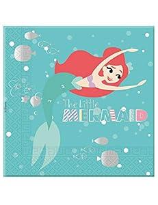 Procos servilleta 33cm 3Velos arierl Under The Sea, Multicolor, 5pr89902