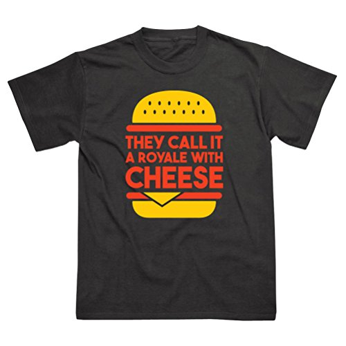 Postees Royale With Cheese Inspired by Pulp Fiction T-Shirt