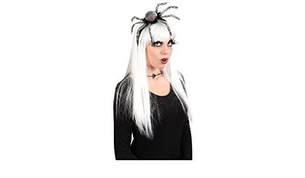 Haarreif Spider mit großer Spinne zum Hexe Kostüm an Halloween