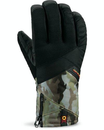 Dakine Bronco Paire de gants pour homme Rasta w14 (vert/jaune/rouge)