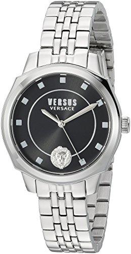 Versus Versace pour femme 'New Chelsea' à quartz montre en acier inoxydable, couleur: Les LED Offrent (modèle: Vsp510518)