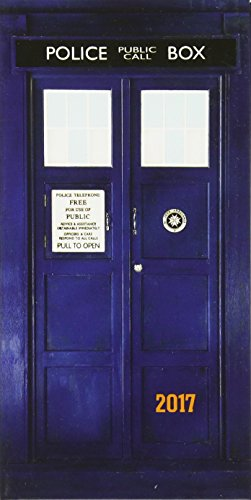 Doctor Who Official 2017 Diary (Diary Slim) por CASED