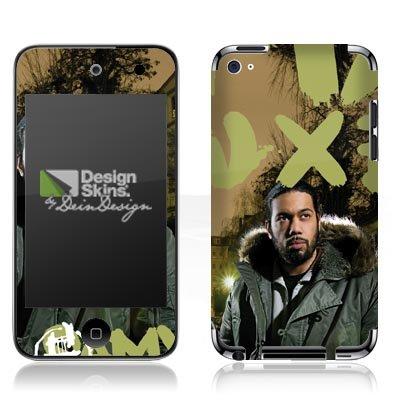 Apple iPod Touch 4. Generation Folie Skin Aufkleber Schutzfolie DesignSkin - Samy Deluxe - Dis wo ich herkomm Cover Skin