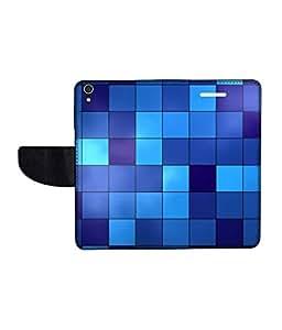 KolorEdge Printed Flip Cover For Lenovo S850 -Multicolor (50KeMLogo11096LenovoS850)