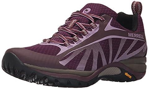 Merrell Siren Edge Waterproof, Chaussures de Randonnée Basses Femme, Violet (Red Huckleberry), 40 EU