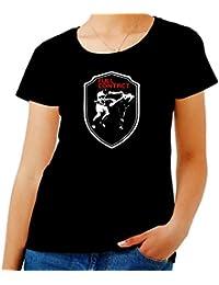 T-Shirtshock - T-shirt para las mujeres TR0047 Full Contact MMA T-