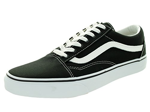 Vans Old Skool, Baskets mode Homme canvas black-true white
