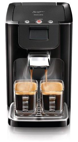 Philips Senseo Quadrante - Cafetera monodosis, color negro (importada)