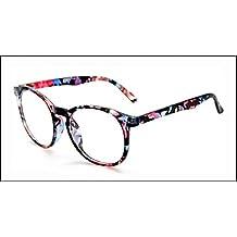Interesting®Runde klare Objektive Brille Korrektionsfassungen Kostüm Brillen