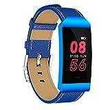 S7 Kommerziellen Smart Armband Bunte Wasserdichte Fitness Tracker Smart Armband Mit Schrittzähler Pulsmesser (Blau)