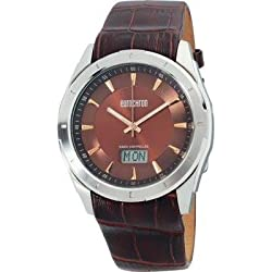 Eurochron Funk Armbanduhr SS 13310G04 (Ø x H) 44 mm x 12 mm silver Gehäusematerial=Edelstahl Material (Armba