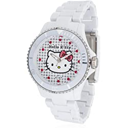Hello Kitty Girl's Watch with White Dial HK1464-041