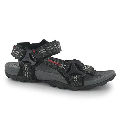 Karrimor Amazon Herren Sandalen Sommer Trekking Wanderschuhe Outdoor Schuhe Black/Charcoal 12 (46) -