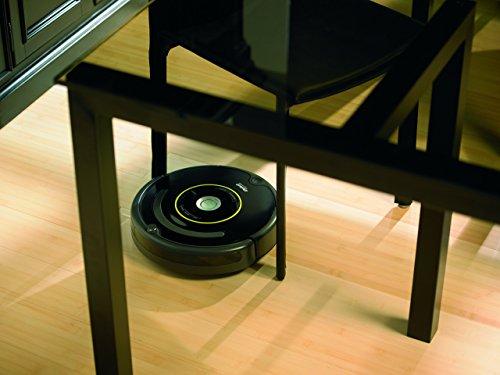 iRobot Roomba 650 Staubsaug-Roboter (Zeitplan einstellbar, 1 Virtuelle Wand) schwarz - 4