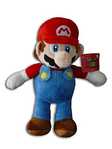 Preisvergleich Produktbild Mario 60cm Super Mario Bros Bruder Rot Plüsch Klempner Stofftier Kuscheltiere Weich Original Neu Qualität Plush Spielfigur Spiel Videospiel Plüschtier Fernsehserie TV Film Freund