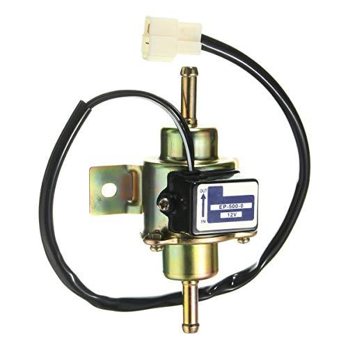 JenNiFer Universale Auto Auto Bassa Tensione Elettronica Pompa del Carburante Pompe di Gas 3-5 (Psi) 12V