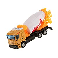 MagiDeal Mini 1:64 Diecast Cement Mixer Truck Model Alloy Vehicle Lorry Cars Toys