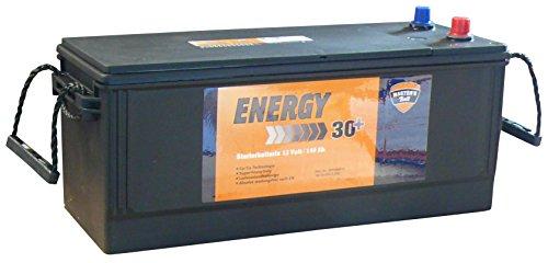 LKW Batterie, Ca/Ca, 12 Volt, 140Ah SHD, pf. 63530, 64020, Kältestrom EN (A): 950, Maße L x B x H (mm): 513 x 189 x 223 mm