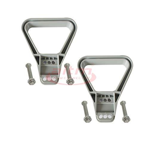 2 pièces 175 A / 350 A 600 V Treuil Connecteur Batterie Poignée Extracteur Plastique (Gris)