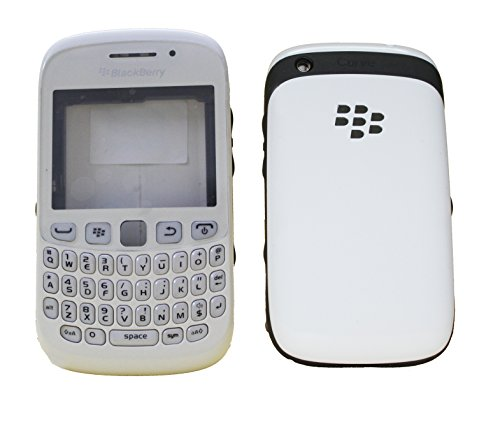 Full Housing Body Panel Faceplate For Blackberry Curve 9220 White  available at amazon for Rs.699