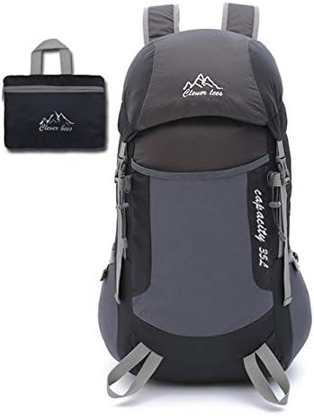 Alpinismo zaino coppie stile leggero portatile portatile portatile pieghevole Outdoor Sport Pack Racksack pelle borsa per il viaggio Alpinismo passeggiate Campeggio 5 Coloreeei, H48 x W27x T20CM , nero | Vinto altamente stimato e ampiamente fidato in patria e all'estero  |  c1f17c