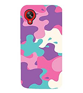 Ebby Premium 3d Desinger Printed Back Case Cover For LG Nexus 5 (Premium Desinger Case)