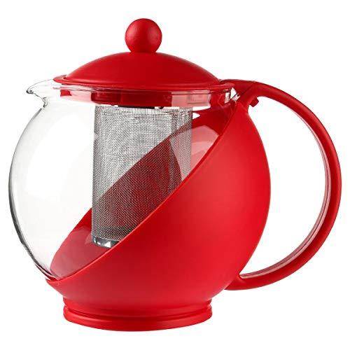 Secret de Gourmet - Théière essentielle rouge 1,25L