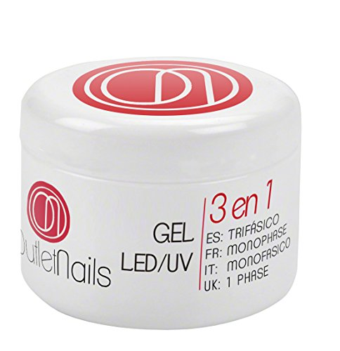 Gel Trifasico UV/LED 15ml Uñas OUTLET NAILS