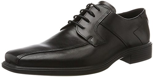 ECCO Herren Minneapolis Derbys Schwarz (Black) 44 EU