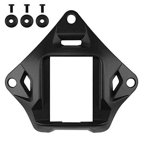 Taktischer Helm NVG Mount Shroud Stahl Sportkamera Halterung Basis für ACH Mich OPS-Core Fast Helm (Black)