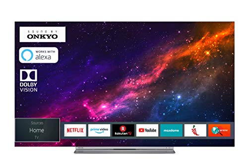 Toshiba 55X9863DA OLED Fernseher (4K Ultra HD, Triple Tuner, Smart TV, Dolby Vision HDR, Prime Video, Alexa ready)