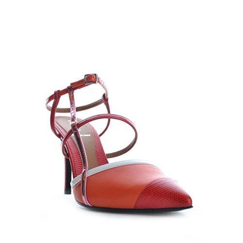 Fendi sandales ON14 Rouge